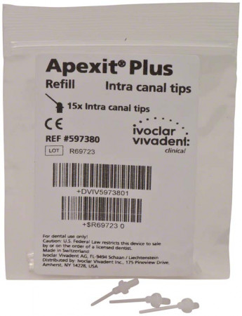 Apexit plus intra canal tips 15 st