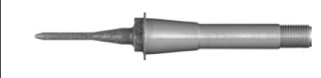 Cylinder pointed burs 12 EF 6st