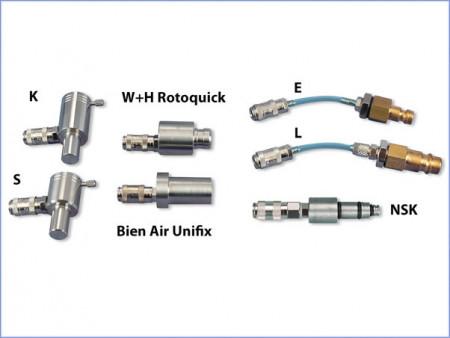 Airsonic adapter: S voor Sirona turbine aansluiting