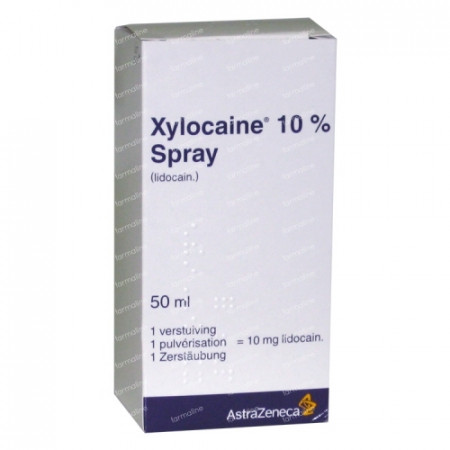 xylocaine pump spray 10