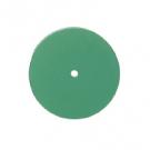Alphaflex rubber schijf groen ongemonteerd 3x22mm 100st 0101