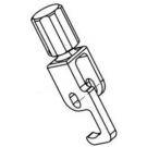 Centric locking catch L, compleet