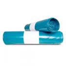 Afvalzakken lichtblauw 70x110cm 20st