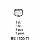 Axiale M2 matrixkorfje RE 4500TI Titanax 2st