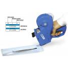 Melag MELAdoc etiketten 6 rollen à 750 etiketten en 1 printlint