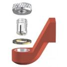Ceka Extra-coronair + onderdelen Irax rood M2