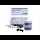 Ultradent ultra-blend plus kit ( 2 x dentin, 2 x opaak wit, 20 black micro en 20 black mini tips)